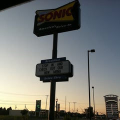 Photo taken at SONIC Drive In by Karla W. on 8/1/2011