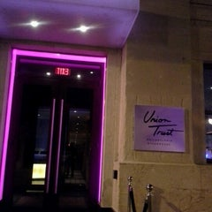Photo taken at Union Trust Steakhouse by Edinah C. on 6/30/2012