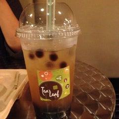 Photo taken at Tea Leaf Cafe by Samantha N. on 6/10/2012
