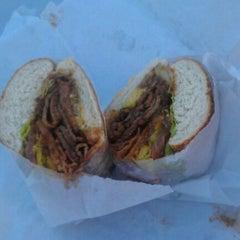 Photo taken at Los Gatos Meats Smokehouse by Domingo C. on 1/5/2012