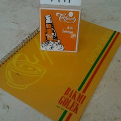 Photo taken at Bakmi Golek Lippo Cikarang by Adelina P. on 9/11/2012
