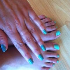 Photo taken at Bellemani nail salon by 🎀 Rachael 👑 D. on 8/8/2012