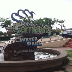 Photo taken at Bukit Gambang Water Park by Chang Y. on 3/3/2012