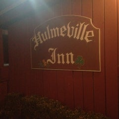 Photo taken at Hulmeville Inn by Matthew W. on 2/19/2012