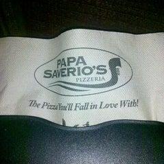 Photo taken at Papa Saverio's Pizza by Kurk P. on 9/14/2011
