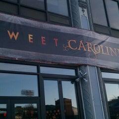 Photo taken at Sweet Caroline's Restaurant & Bar by Caroline N. on 1/29/2012