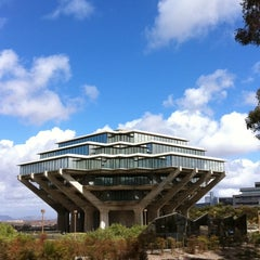 Photo taken at Geisel Library by Julia M. on 10/6/2011
