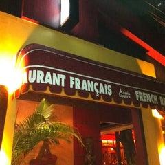 Photo taken at Paris Bangkok French Restaurant and Lounge by Sean.T on 7/26/2012