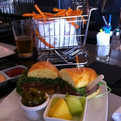 Photo taken at Delux Burger by James D. on 10/2/2011