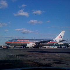 Photo taken at Concourse C by Alex R. on 4/10/2012