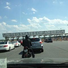 Photo taken at U.S./Canada border - Champlain-St. Bernard de Lacolle Crossing by Lynn D. on 6/21/2012