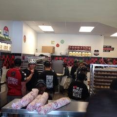 Photo taken at Jimmy John's by Christy V. on 6/6/2012