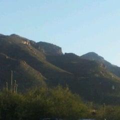 Photo taken at Sabino Canyon Recreation Area by Ana-Alicia S. on 1/4/2012