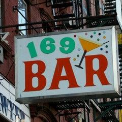 Photo taken at 169 Bar by Lisa G. on 8/24/2011
