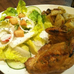 Photo taken at Barcelos Flame Grilled Chicken by Annabelle K. on 4/24/2011