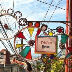 Photo taken at PataPata Hostel by Pau C. on 1/30/2012
