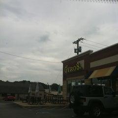 Photo taken at George's Gyros Spot #2 by Joshua K. on 9/10/2011