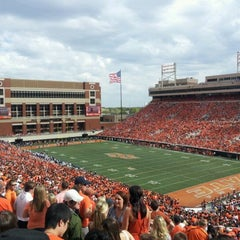 Photo taken at Boone Pickens Stadium by Harshad K. on 10/8/2011