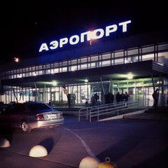Photo taken at Международный аэропорт Большое Савино / Bolshoye Savino International Airport (PEE) by Irina V. on 9/4/2012