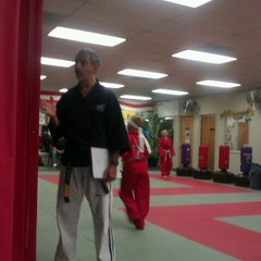 Photo taken at Azad's Martial Arts Family Academy by Aaron B. on 11/17/2011