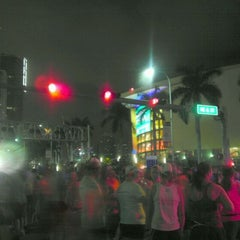 Photo taken at 10th ING Miami Marathon (Full & Half-Marathon) by Luis G. on 1/29/2012