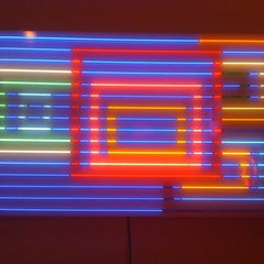 Photo taken at Museum Of Neon Art by Eric L. on 4/10/2011