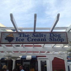Photo taken at The Salty Dog Ice Cream Shop by Jason B. on 7/6/2012