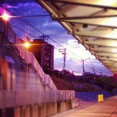 Photo taken at MetroLink - Forest Park Station by Christina S. on 7/29/2012