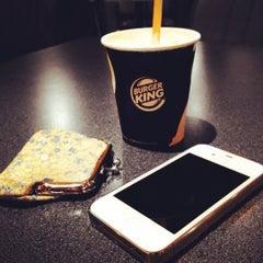 Photo taken at Burger King by Antal K. on 1/29/2012