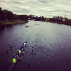 Photo taken at Charles River by Will F. on 10/23/2011