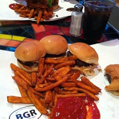 Photo taken at BGR - The Burger Joint by Michael W. on 6/15/2012