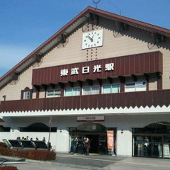 Photo taken at 東武日光駅 (Tobu-Nikko Sta.) (TN-25) by まさよ お. on 1/18/2012