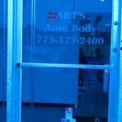 Photo taken at Art's Auto Body by James W. on 9/28/2011