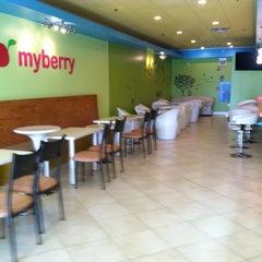Photo taken at MyBerry Frozen Yogurt by Taylor M. on 4/27/2012