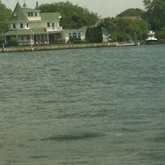Photo taken at Maple Avenue Marina by Karen M. on 8/2/2012