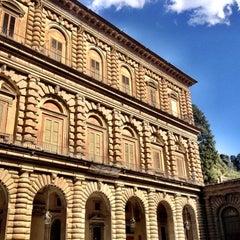 Photo taken at Palazzo Pitti by Tiffany on 8/26/2012