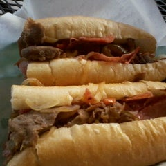 Photo taken at Philly's Cheesesteaks by Patric H. on 12/30/2011