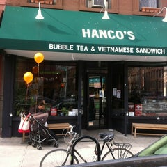 Photo taken at Hanco's Bubble Tea & Vietnamese Sandwich by Marc L. on 3/4/2012