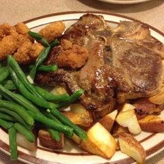 Photo taken at Denny's by Velerie R. on 4/2/2012