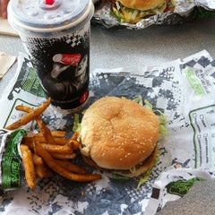 Photo taken at Checkers Drive-In Restaurant by Jeff N. on 2/6/2011