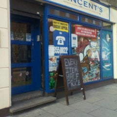 Photo taken at Vincent's Charity Shop by Sam B. on 1/3/2012