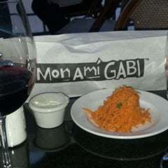 Photo taken at Mon Ami Gabi by Alex F. on 5/18/2012
