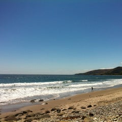 Photo taken at El Capitan State Beach by No A. on 5/26/2012