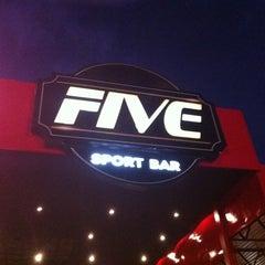 Photo taken at Five Sport Bar by Rodrigo S. on 5/5/2012