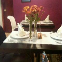 Photo taken at Morrocoy Café-bistró by Rodo B. on 6/28/2012
