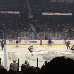 Photo taken at Chicago Wolves Game by Matti C. on 4/15/2012