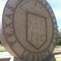 Photo taken at Texas Tech University by Kristina Y. on 4/28/2012