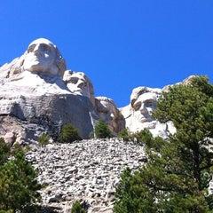 Photo taken at Mount Rushmore National Memorial by Nikki C. on 8/29/2012