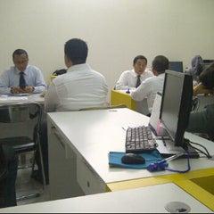 Photo taken at Bank Mandiri Juanda by Arie J. on 5/15/2012
