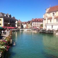 Photo taken at Quai Napoléon III by Steve T. on 7/7/2012